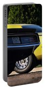 1970 Plymouth 'cuda 440 And Hemi Portable Battery Charger