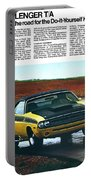 1971 Dodge Challenger T/a Portable Battery Charger