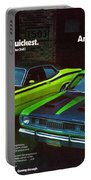 1971 Plymouth Duster 340 And Twister Portable Battery Charger