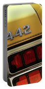 1972 Oldsmobile Cutlass 4-4-2 Portable Battery Charger by Gordon Dean II