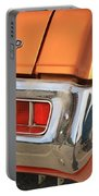 1973 Plymouth Scamp Tail Lights And Logo Portable Battery Charger