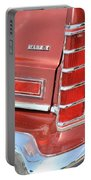 1977 Lincoln Continental Mark V With Tail Lights And Logo Portable Battery Charger