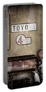 1978 Toyota Land Cruiser Fj40 Taillight Emblem -1191ac Portable Battery Charger