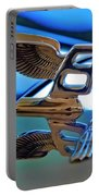 1980 Bentley Hood Ornament Portable Battery Charger by Jill Reger