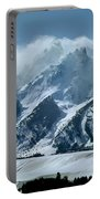 1m9314 Clouds Over The Tetons Portable Battery Charger