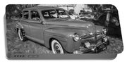 1942 Ford Super Deluxe Sedan Bw  Portable Battery Charger