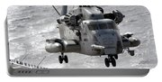 A Ch-53e Super Stallion Helicopter Portable Battery Charger