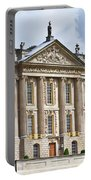 A View Of Chatsworth House, Great Britain Portable Battery Charger