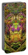 Abstract Graphics Portable Battery Charger