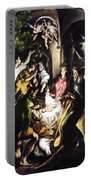 Adoration Of The Shepherds Portable Battery Charger