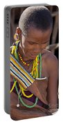 African Woman Portable Battery Charger