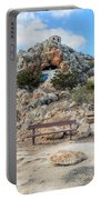 Agioi Saranta Cave Church - Cyprus Portable Battery Charger