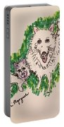 American Eskimo Dog Portable Battery Charger