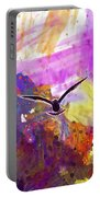 Animal Sky Cloud Sea Gull Seagull  Portable Battery Charger