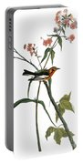 Audubon: Warbler, (1827-38) Portable Battery Charger