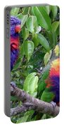 Australia - Two Brightly Coloured Lorikeets Portable Battery Charger