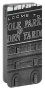Baltimore Orioles Park At Camden Yards Bw Portable Battery Charger
