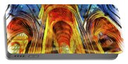 Bath Abbey Sun Rays Art Portable Battery Charger