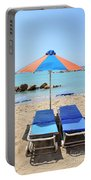 Beach Resort Portable Battery Charger
