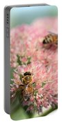 2 Bees Portable Battery Charger