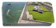 Belem Tower Panorama Portable Battery Charger