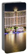 Bellagio Hotel On Nov, 2017 In Las Vegas, Nevada,usa. Bellagio I Portable Battery Charger