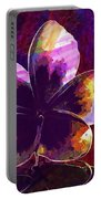 Blossom Bloom Flower White Yellow  Portable Battery Charger