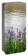 Blue Daffodils Portable Battery Charger