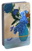 Blue Passion Portable Battery Charger