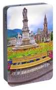 Bolzano Main Square Waltherplatz Panoramic View Portable Battery Charger