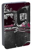 Bonnie And Clyde Death Car South Of Gibsland Toward Sailes Louisiana May 23 1933-2013 Portable Battery Charger