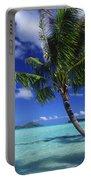Bora Bora, Palm Tree Portable Battery Charger