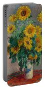 Bouquet Of Sunflowers Portable Battery Charger