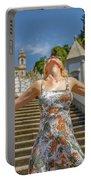 Braga Portugal Woman Portable Battery Charger