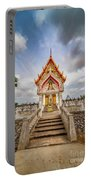 Buddhist Temple Portable Battery Charger by Adrian Evans