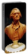 Bust Of Thomas Jefferson  Portable Battery Charger