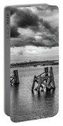 Cardiff Bay Panorama Mono Portable Battery Charger