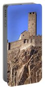 Castelgrande - Bellinzona Portable Battery Charger by Joana Kruse