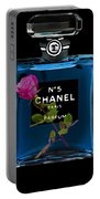 Chanel With Rose Portable Battery Charger