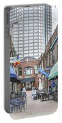 Charlotte Nc Downtown Portable Battery Charger