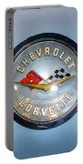 Chevrolet Corvette Badge Portable Battery Charger