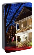 Christmas Village Portable Battery Charger