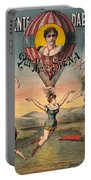 Circus Poster, C1890 Portable Battery Charger