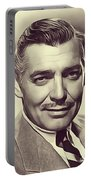 Clark Gable, Vintage Actor Portable Battery Charger
