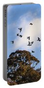 Cockatoos - Canberra - Australia Portable Battery Charger