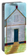 Cracker Cabin Drawing Portable Battery Charger