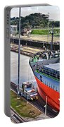 Crossing Panama Canal Portable Battery Charger