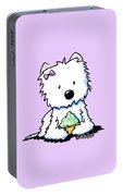 Cupcake Westie Portable Battery Charger