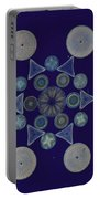 Diatom Arrangement Portable Battery Charger