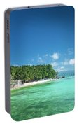 Diniwid Beach In Tropical Paradise Boracay Philippines Portable Battery Charger